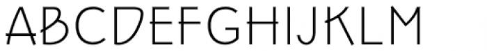 Epoque Seria 3 Extra Light Italic Font UPPERCASE