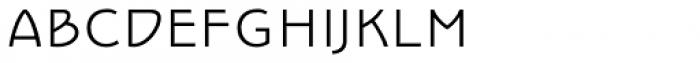 Epoque Seria 3 Extra Light SC Font LOWERCASE