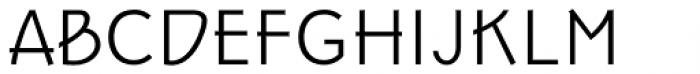 Epoque Seria 4 Light Italic Font UPPERCASE