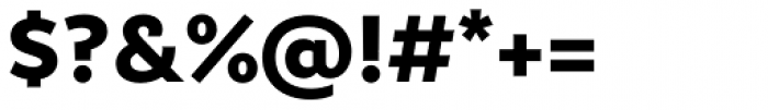 Epura Bold Font OTHER CHARS