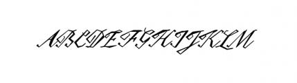 Epaulet (plain) Font UPPERCASE