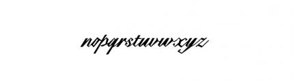 Epaulet (plain) Font LOWERCASE