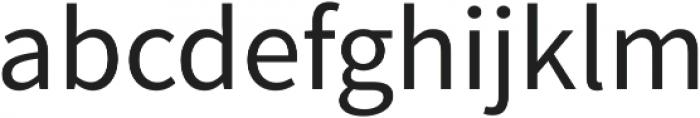 Equilibrium Pro otf (400) Font LOWERCASE