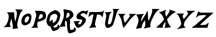 Equestria Italic Font UPPERCASE