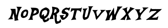 Equestria Italic Font LOWERCASE