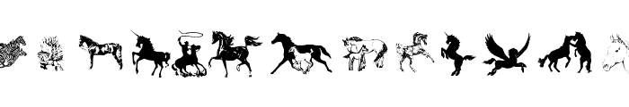 Equestrian by Darrian Font LOWERCASE