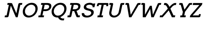 Equalis Bold Italic Font UPPERCASE