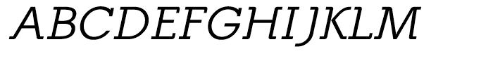 Equalis Italic Font UPPERCASE