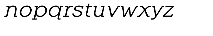 Equalis Italic Font LOWERCASE