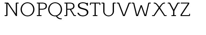 Equalis Light Font UPPERCASE