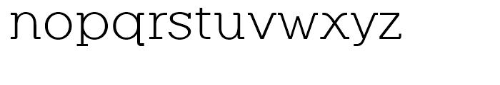 Equalis Light Font LOWERCASE