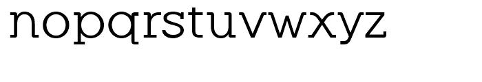 Equalis Regular Font LOWERCASE