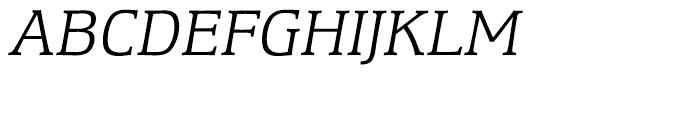 Equestrienne Light Italic Font UPPERCASE