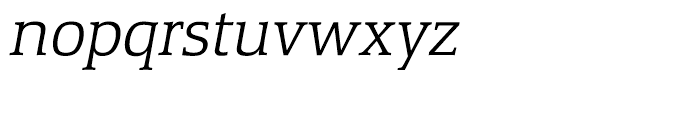 Equestrienne Light Italic Font LOWERCASE