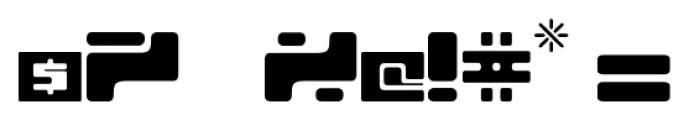 Equ Regular Font OTHER CHARS