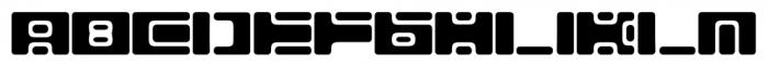 Equ Regular Font LOWERCASE