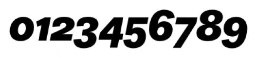 Equitan Sans Black Italic Font OTHER CHARS