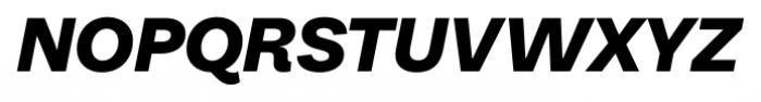 Equitan Sans Black Italic Font UPPERCASE