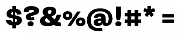 Equitan Sans Black Font OTHER CHARS