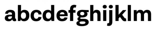 Equitan Sans Bold Font LOWERCASE