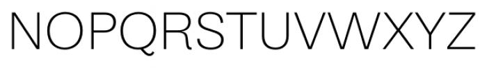 Equitan Sans Extra Light Font UPPERCASE