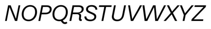 Equitan Sans Italic Font UPPERCASE