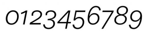 Equitan Sans Light Italic Font OTHER CHARS
