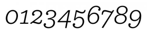 Equitan Slab Light Italic Font OTHER CHARS