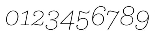 Equitan Slab Thin Italic Font OTHER CHARS