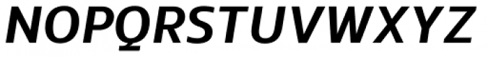 EQ Pro Bold Italic Font UPPERCASE