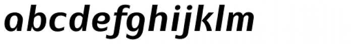 EQ Pro Bold Italic Font LOWERCASE