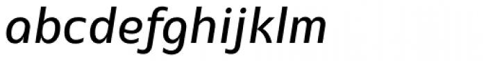 EQ Pro Italic Font LOWERCASE