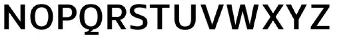 EQ Pro Medium Font UPPERCASE