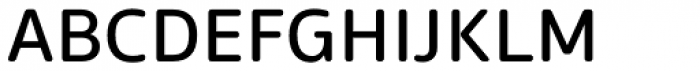 EQ Pro Rounded Regular Font UPPERCASE