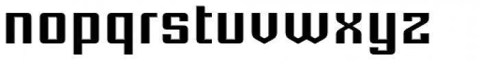 Equa Seventy Five Font LOWERCASE