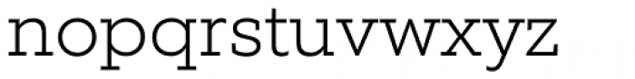 Equip Slab ExtraLight Font LOWERCASE