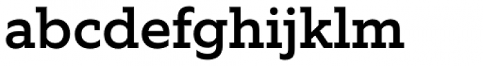Equip Slab Medium Font LOWERCASE