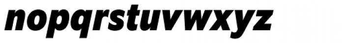 EquipCondensed Black Italic Font LOWERCASE