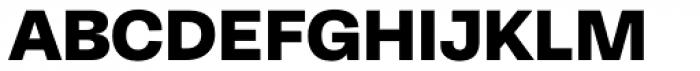 Equitan Sans Black Font UPPERCASE
