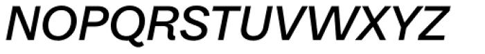Equitan Sans Semi-Bold Italic Font UPPERCASE