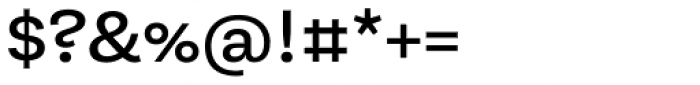 Equitan Sans Semi-Bold Font OTHER CHARS