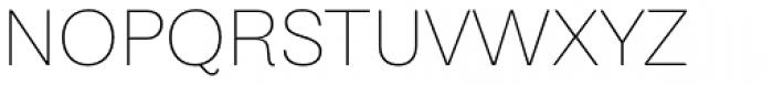 Equitan Sans Thin Font UPPERCASE