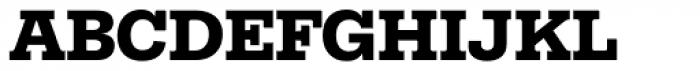 Equitan Slab Black Font UPPERCASE