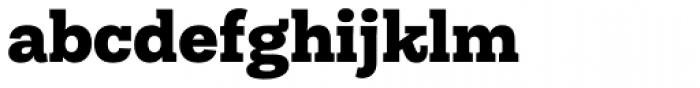 Equitan Slab Black Font LOWERCASE