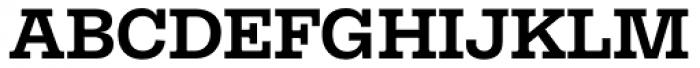 Equitan Slab Bold Font UPPERCASE