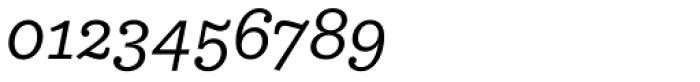 Equitan Slab Italic Font OTHER CHARS