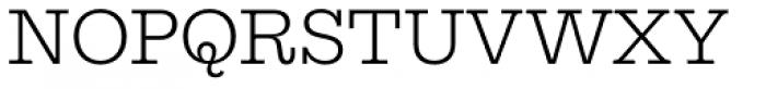 Equitan Slab Light Font UPPERCASE
