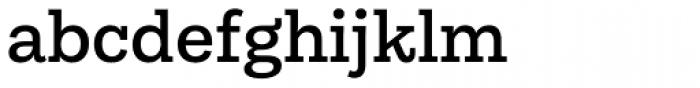 Equitan Slab Semi Bold Font LOWERCASE