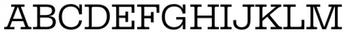 Equitan Slab Font UPPERCASE