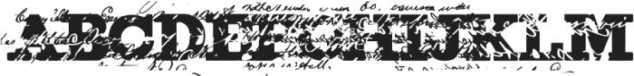 ErasedFigginsBrute Regular ttf (400) Font UPPERCASE
